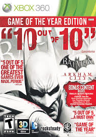 BATMAN ARKHAM CITY GOTY EDITION XBOX 360 - comprar online