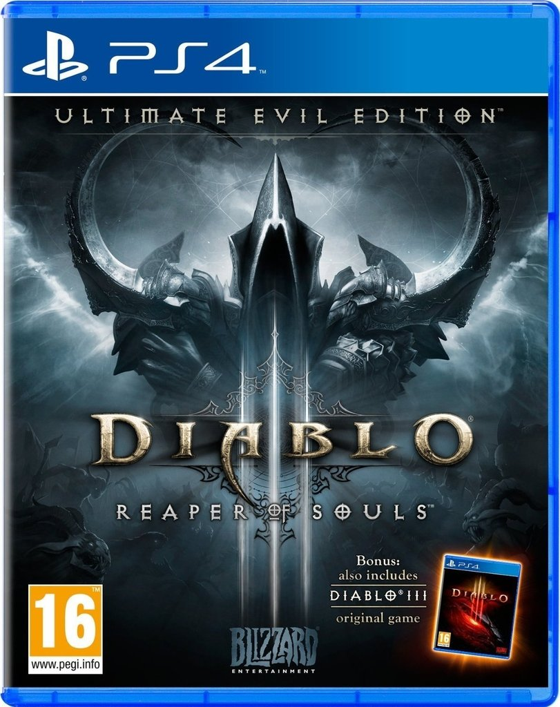 DIABLO III REAPER OF SOULS ULTIMATE EVIL PS4