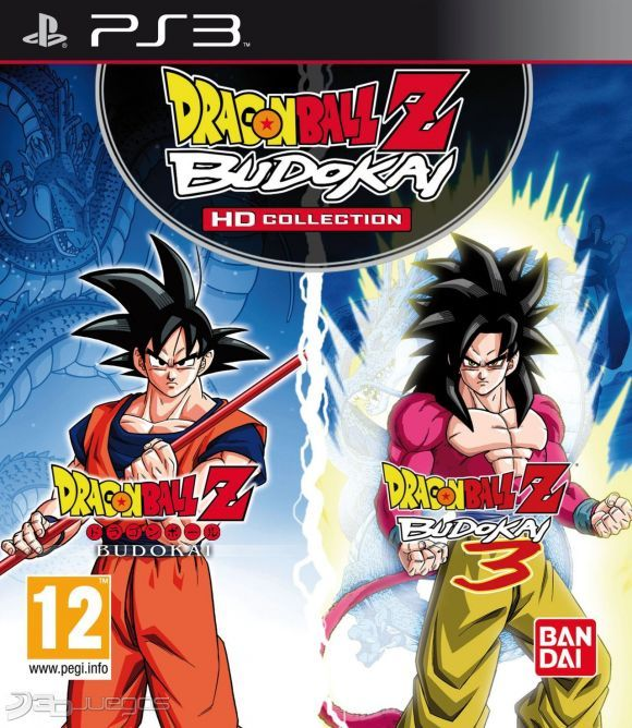 DRAGON BALL Z BUDOKAI HD COLLECTION PS3