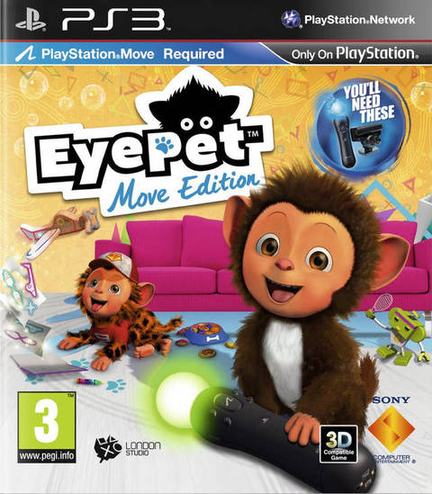 EYE PET MOVE PS3