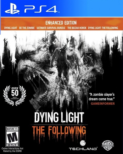DYING LIGHT THE FOLOWING ENHANCED EDITION PS4 - comprar online