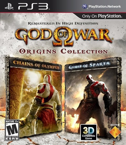 GOD OF WAR ORIGINS COLLECTIONS PS3