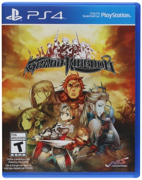 GRAND KINGDOM LAUNCH EDITION PS4