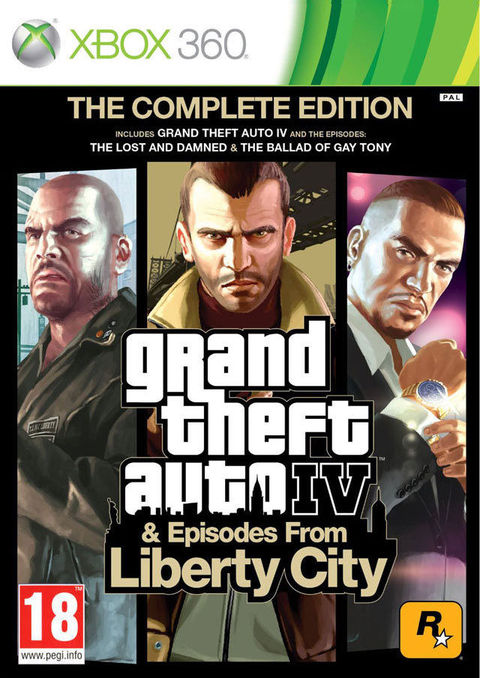 GTA IV - GRAND THEFT AUTO IV - COMPLETE EDITION XBOX 360