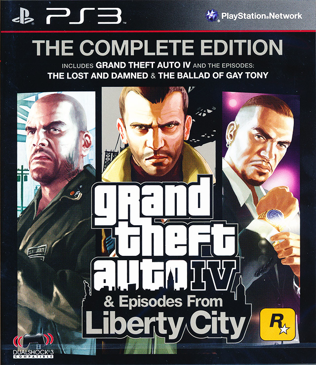 GRAND THEFT AUTO IV COMPLETE EDITION PS3 - GTA 4