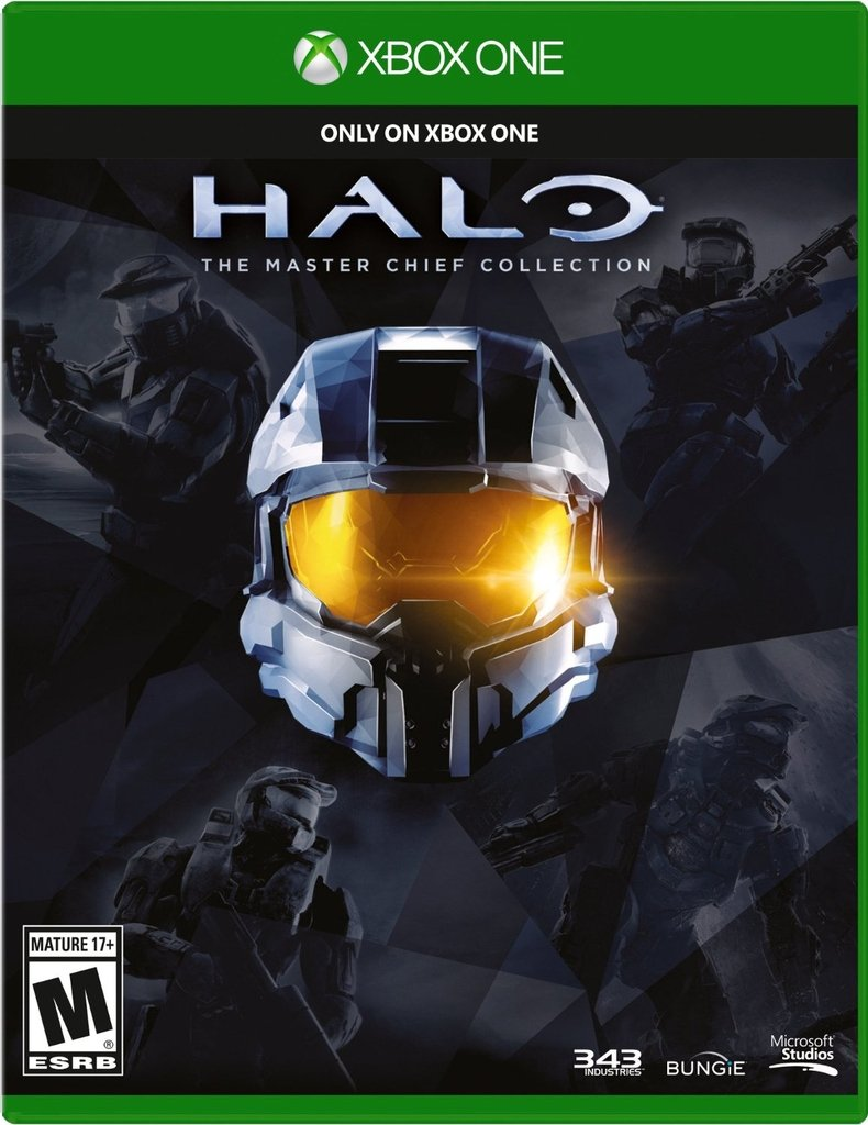 HALO THE MASTER CHIELF COLLECTION XBOX ONE