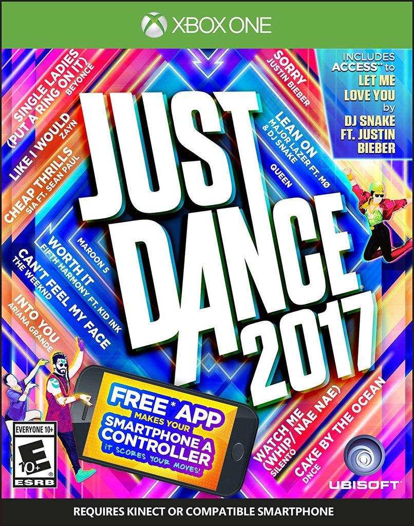 JUST DANCE 2017 XBOX ONE - comprar online