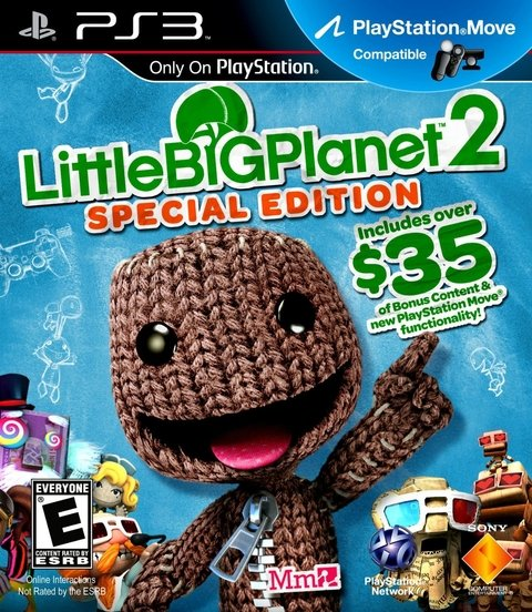 LITTLE BIG PLANET 2 SPECIAL EDITION PS3 MOVE
