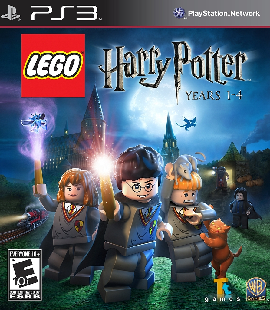 LEGO HARRY POTTER 1-4 PS3
