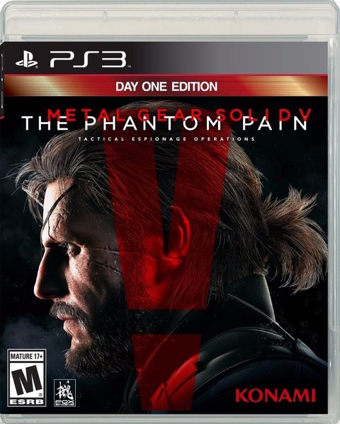 METAL GEAR SOLID V THE PHANTOM PAIN PS3