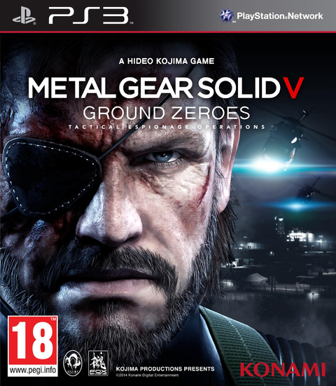 METAL GEAR SOLID V - GROUD ZEROES PS3