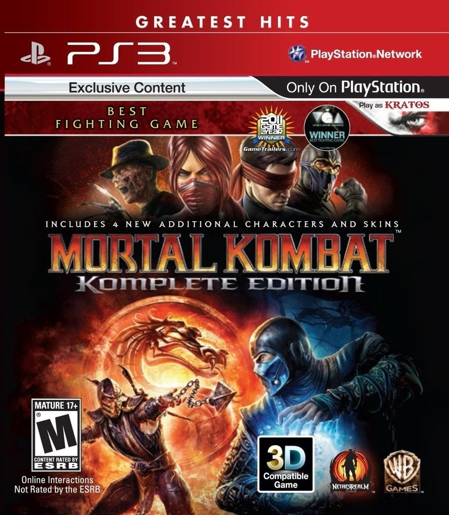 MORTAL KOMBAT 9 KOMPLETE EDITION PS3