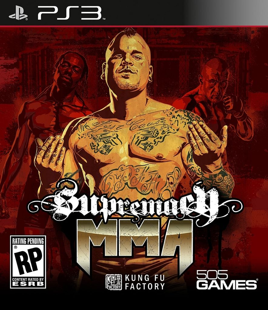 MMA SUPREMACY PS3