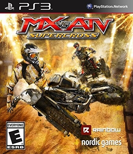 MX VS ATV SUPER CROSS PS3