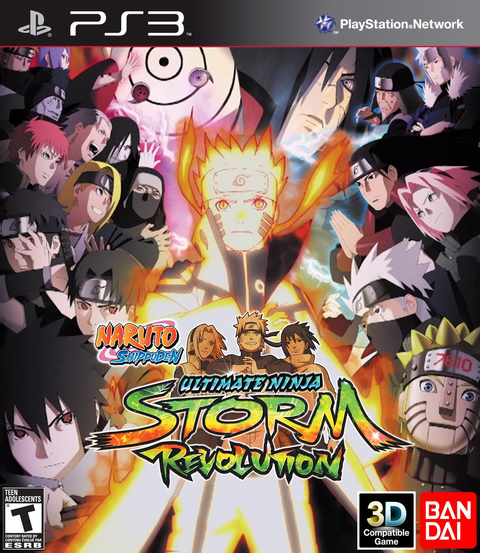 NARUTO SHIPPUDEN ULTIMATE NINJA STORM REVOLUTION PS3