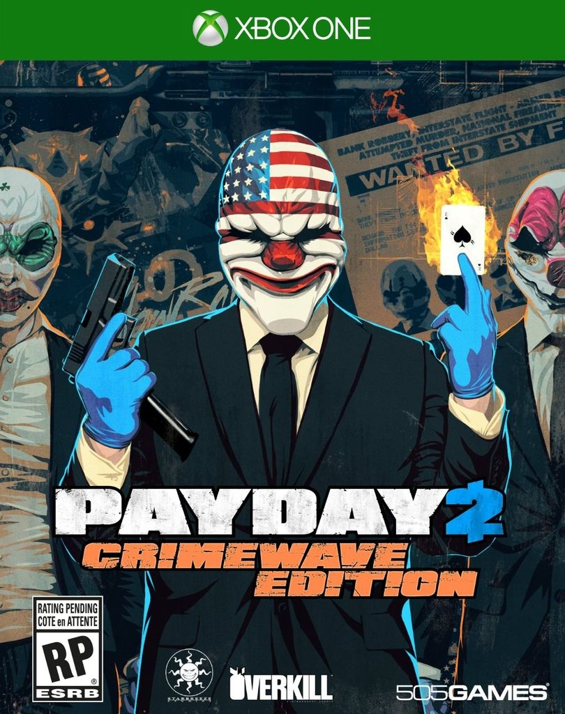 PAY DAY 2: CRIMEWAVE EDITION XBOX ONE