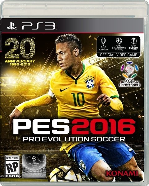 PES 2016 PS3 - PRO EVOLUTION SOCCER - comprar online