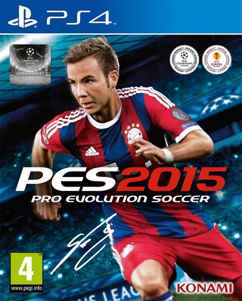 PRO EVOLUTION SOCCER 2015 PS4 - PES 15