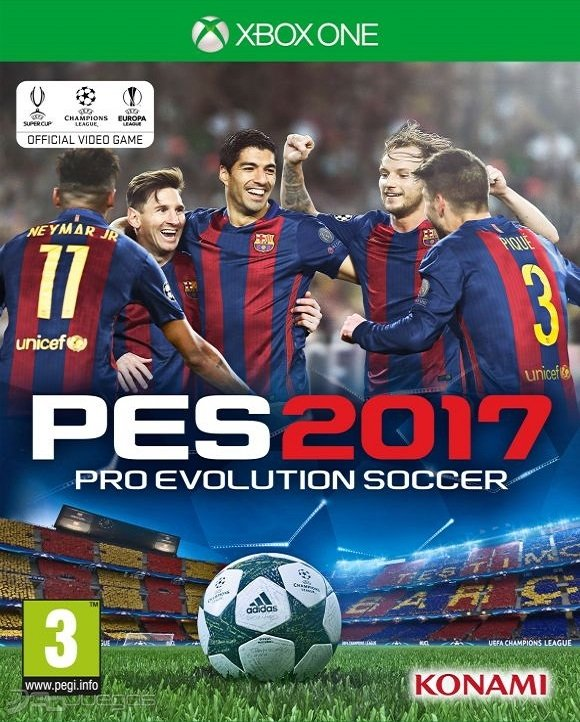 PES 2017 XBOX ONE - comprar online