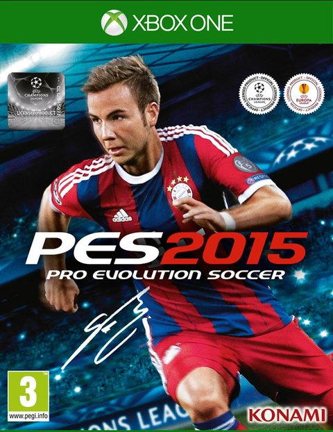 PRO EVOLUTION SOCCER 2015 XBOX ONE - PES 15