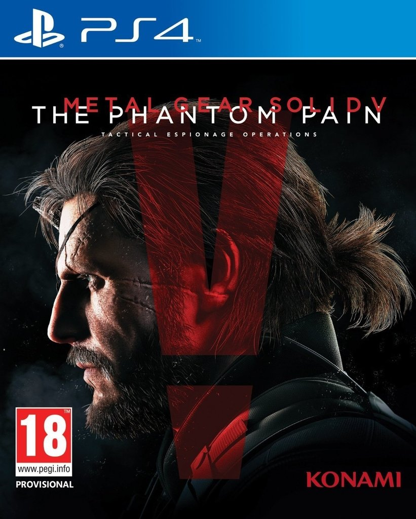 METAL GEAR SOLID V THE PHANTOM PAIN PS4 - comprar online