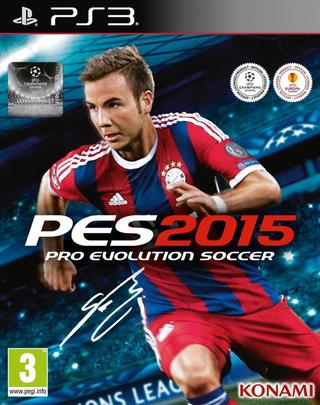 Pro Evolution Soccer 2015 Ps3 - PES 15