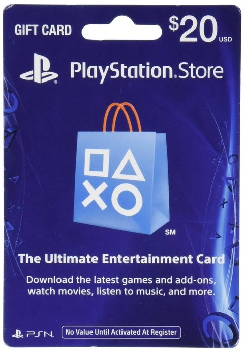 PSN CARD $20 USA