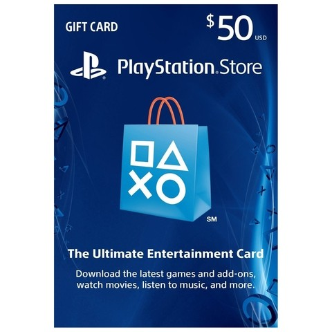 PSN CARD $50 USA