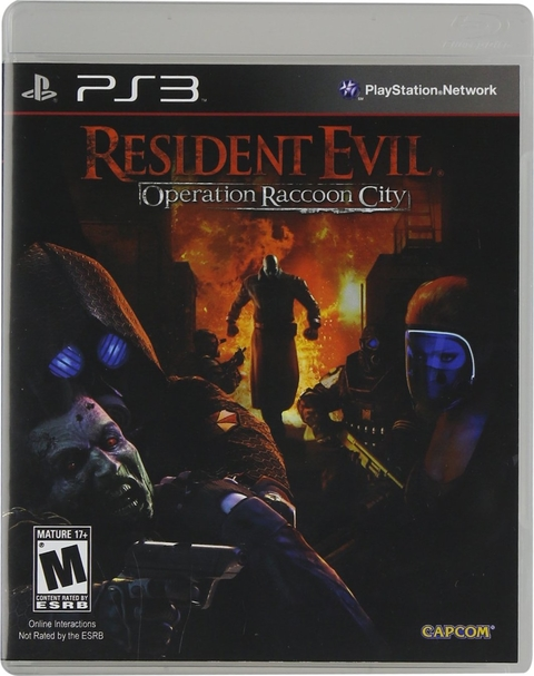 RESIDENT EVIL OPERACION RACOON CITY PS3 - comprar online