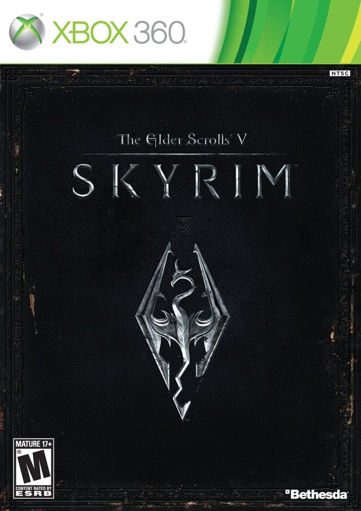 THE ELDER SCROLL V SKYRIM XBOX 360