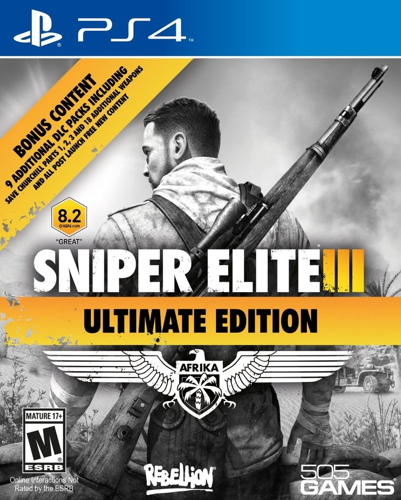 SNIPER ELITE 3 ULTIMATE EDITION Ps4 - comprar online