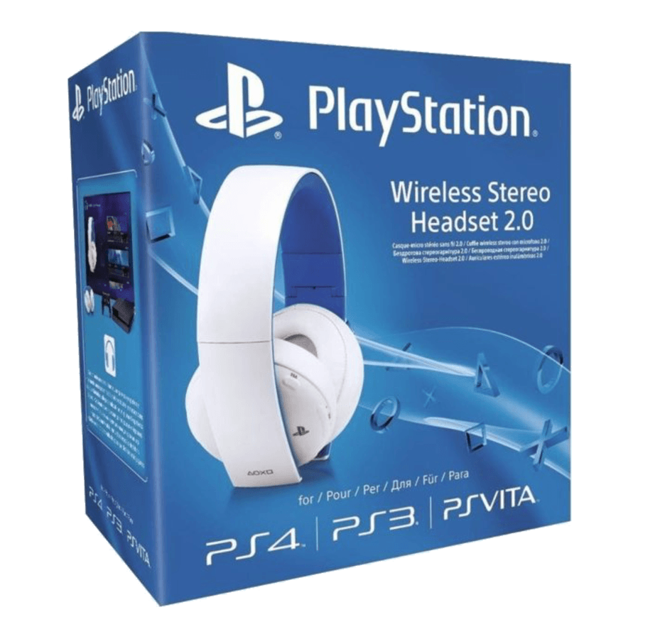 HEADSET STEREO WIRELESS - PS3/PS4