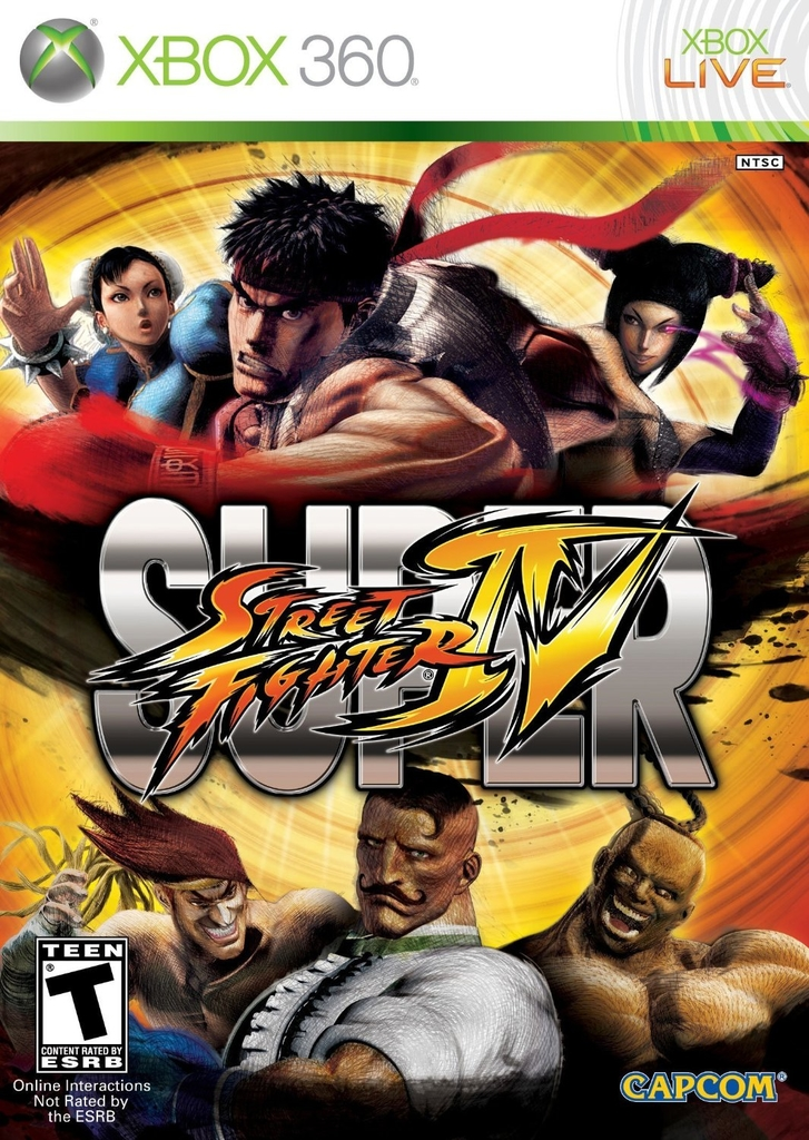 SUPER STREET FIGHTER 4 XBOX 360 - comprar online