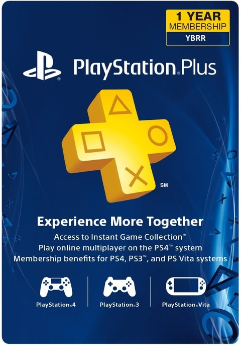 PLAYSTATION PLUS CARD - MEMBRESÍA 12 MESES
