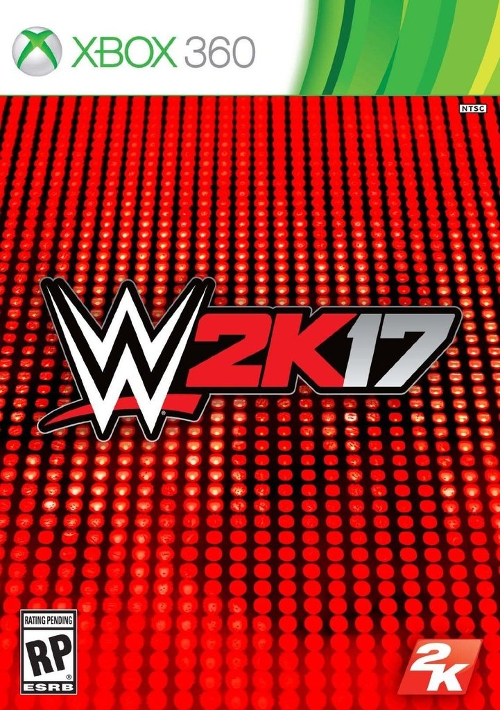 WWE 2K17 XBOX 360 - Play For Fun