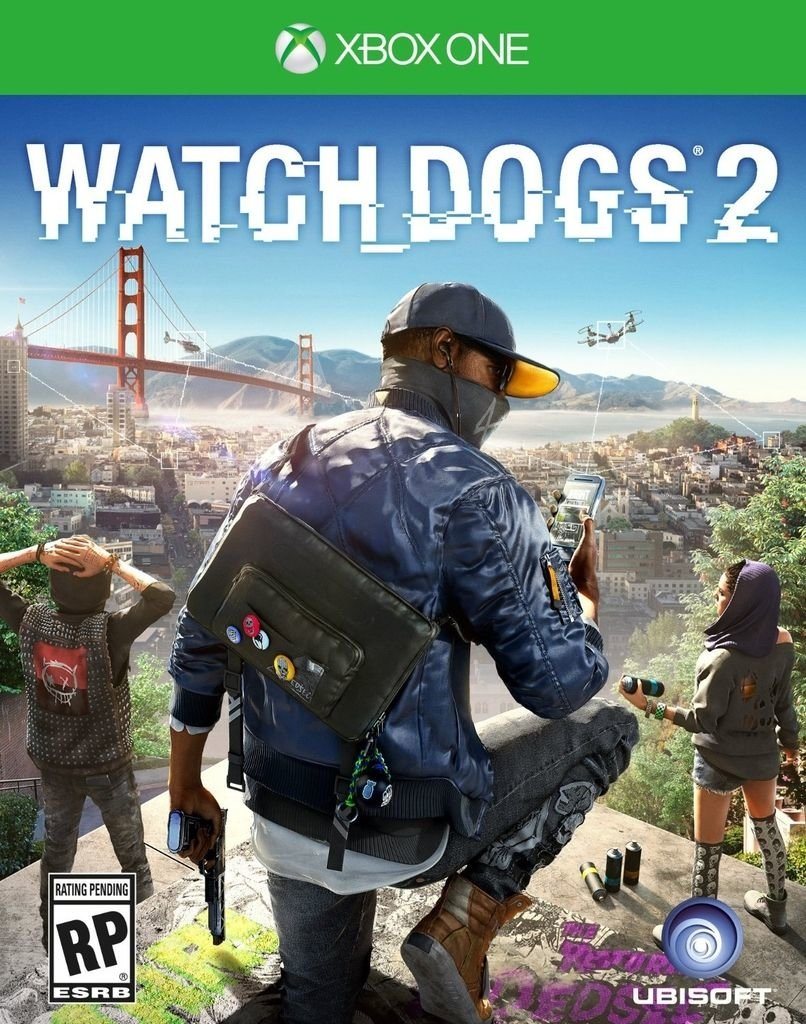 WATCHDOGS 2 XBOX ONE - comprar online