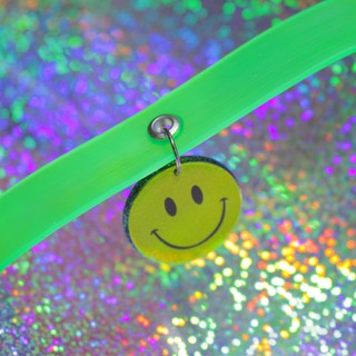 CHOKER SMILEY NEON
