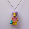 Colar - Patty Bouvier / Simpsons Lego - Labjur
