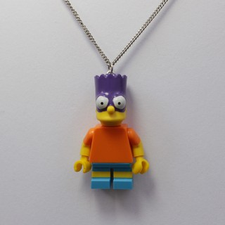 Colar - Bart / Simpsons Lego na internet