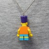 Colar - Bart / Simpsons Lego