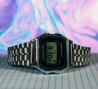 Casio A168 - Silver - Inspired