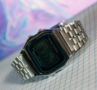 Casio A168 - Silver - Inspired - loja online