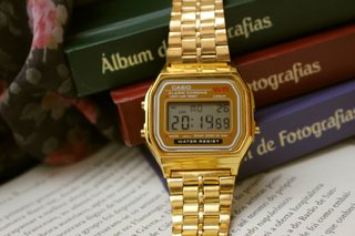 Casio A168 - Gold Inspired - loja online