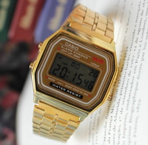 Casio A168 - Gold Inspired