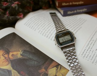 Casio A168 - Silver Inspired - Labjur