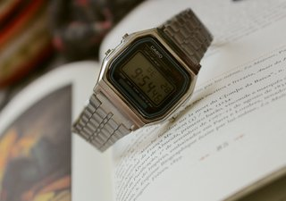 Casio A168 - Silver Inspired - loja online