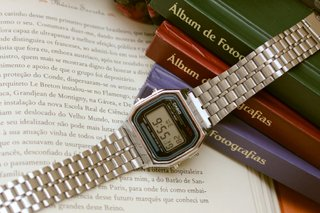 Casio A168 - Silver Inspired