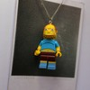 Imagem do Colar - Jeffrey / Simpsons Lego