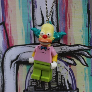 Colar - Krusty / Simpsons Lego