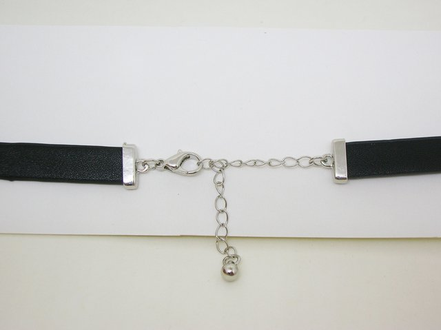Chocker Silver Glam Rock - comprar online